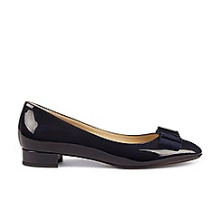 Hobbs - Navy 'lottie' flat shoes