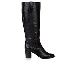 Hobbs - Black 'Mollie' knee boots