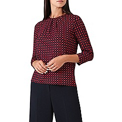 Hobbs - Red 'Julia' top