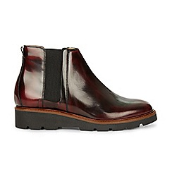 Hobbs - Red 'Bloomsbury' Chelsea boot