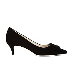 Hobbs - Black 'Luna' court shoes