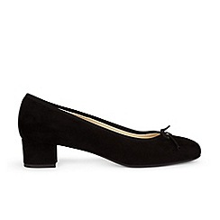 Hobbs - Black 'penny' court shoes