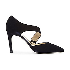 Hobbs - Navy 'Erika' court shoes