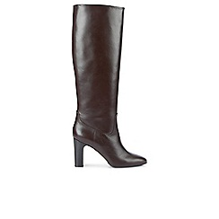 Hobbs - Dark red 'Alexandra' boots