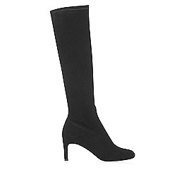 Hobbs - Black 'Sophia' stretch boots