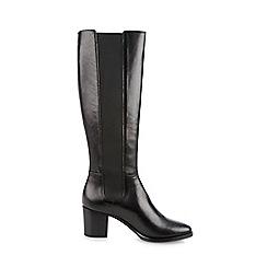 Hobbs - Black 'Lillie' long boots
