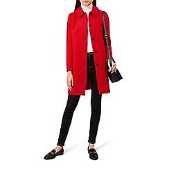 Hobbs - Red 'carron' coat