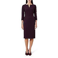 Hobbs - Red 'viviene' knee length shift dress