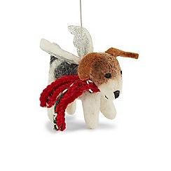 Hobbs - Multicoloured 'Fox' terrier wings