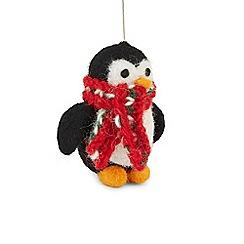 Hobbs - Multicoloured 'Penguin' tree decoration