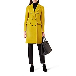 Hobbs - Yellow 'bhavina' coat