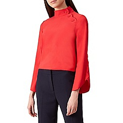 Hobbs - Red 'Diana' blouse