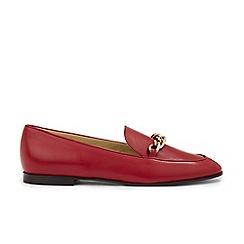Hobbs - Red 'Hannah' loafers