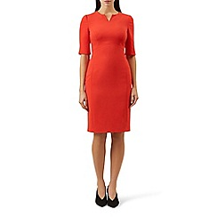 Hobbs - Orange 'Carlota' shift dress