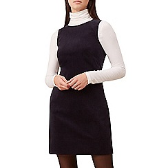 Hobbs - Navy 'Hannah' cowl neck shift dress
