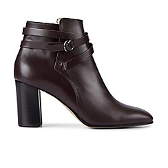 Hobbs - Dark red 'Viola' boots