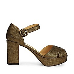 Hobbs - Gold 'Alana' sandal