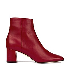 Hobbs - Dark Red 'Imogen' Boots