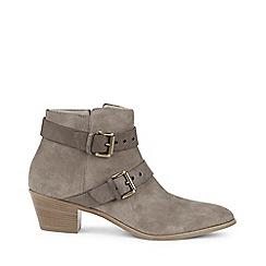 Hobbs - Grey 'Lea' boots
