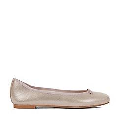 Hobbs - Silver 'Flo' Ballerina Shoes
