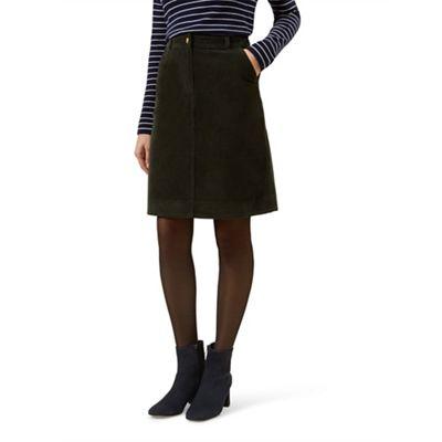 Hobbs   Dark Green 'bronte' Skirt by Hobbs