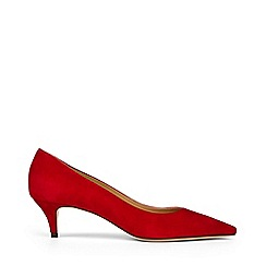 Hobbs - Dark red 'Annie' court shoes
