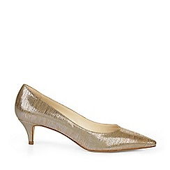 Hobbs - Metallic 'Annie' Court Shoes