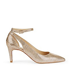 Hobbs - Metallic 'Gabrielle' Court Shoes