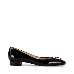 Hobbs - Black 'Nicole' flat shoes