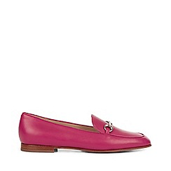 Hobbs - Pink 'Harper' loafer shoes