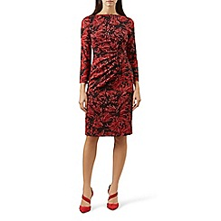 Hobbs - Red 'Sacha' shift dress