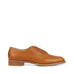 Hobbs - Tan 'Faye' oxford shoes