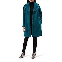 Hobbs - Bright blue 'Braidy' coat