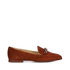 Hobbs - Tan 'Hannah' loafer shoes