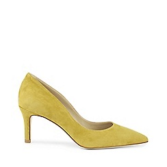 Hobbs - Yellow 'Grace' court shoes