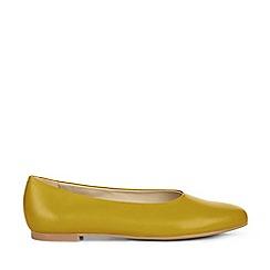 Hobbs - Yellow 'Suki' Flat Shoes