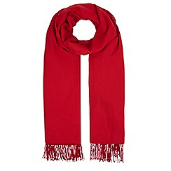 Hobbs - Red 'Matilda' scarf
