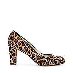 Hobbs - Camel 'Sonia' court shoes
