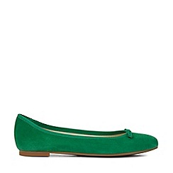 Hobbs - Green 'Flo' Ballerina Shoes