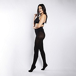 Scarlett & Jo - 90 Denier curvy black tights