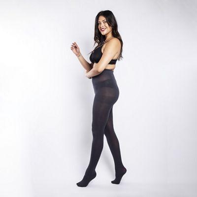 a79351079 Scarlett   Jo 90 Denier curvy slate tights