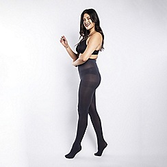 Scarlett & Jo - 90 Denier curvy slate tights