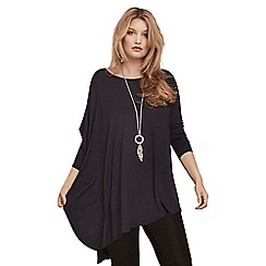 Live Unlimited - Ink poncho top