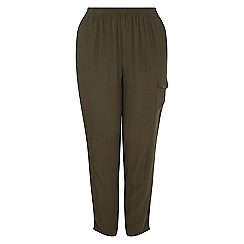 Live Unlimited - Khaki  cargo trousers