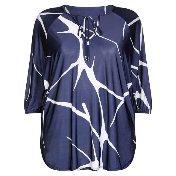 print Unlimited giraffe cocoon Navy Live top qzxFwI8xH7