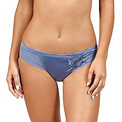 Lisca - Blue 'Sophistic' bikini knickers