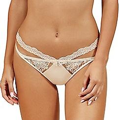 Lisca - Vanilla 'Glory' lace thong