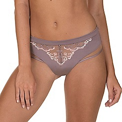 Lisca - Taupe 'Intense' Panty Brief Knickers