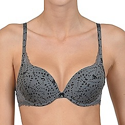 Lisca - Grey print 'Carrie' push-up bra