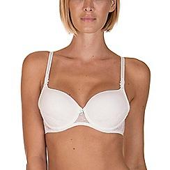 Lisca - White 'Desiree' Underwired T-shirt Bra